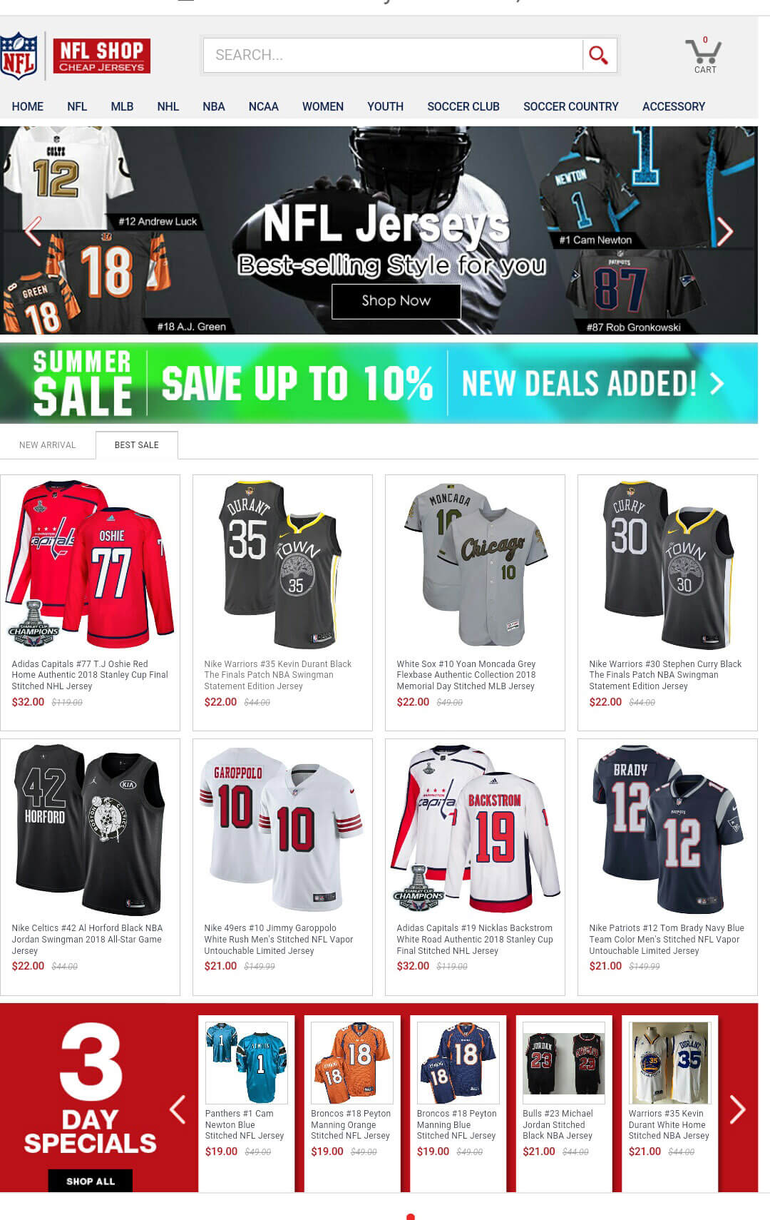 Cheap Jerseys Store